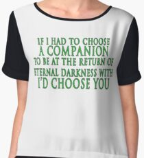 I'd Choose You (Slytherin Colours) Women's Chiffon Top