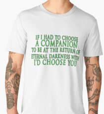 I'd Choose You (Slytherin Colours) Men's Premium T-Shirt