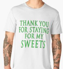 Thank You for Staying (Slytherin Colours) Men's Premium T-Shirt