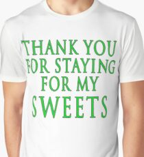 Thank You for Staying (Slytherin Colours) Graphic T-Shirt