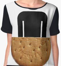 Half Man Half Biscuit Dunking ! Chiffon Top