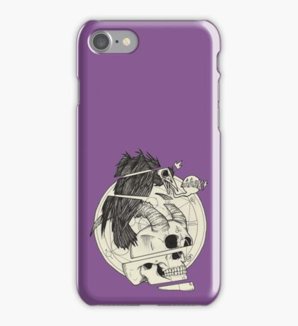 Corbeau & démon. iPhone Case/Skin