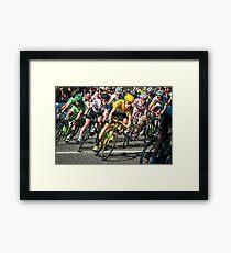 Wiggins Champs Elysées Framed Print