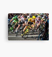 Wiggins Champs Elysées Canvas Print