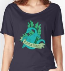 Believe in Yourself - Nessie Women's Relaxed Fit T-Shirt