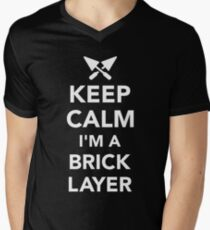 Keep calm I'm a brick layer T-Shirt