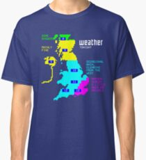 Retro Weather Forecast Classic T-Shirt