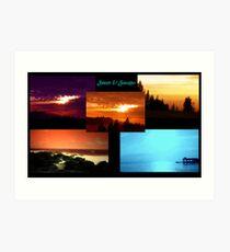 Sunsets & Seascapes Art Print