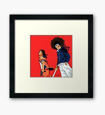 Huey & Riley: The Ninja Way Framed Print