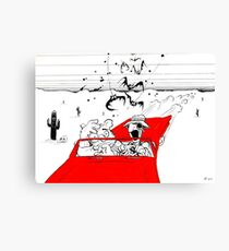Fear and Loathing in Muppet Vegas Canvas Print