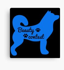 BEAUTY CONTEST Canvas Print