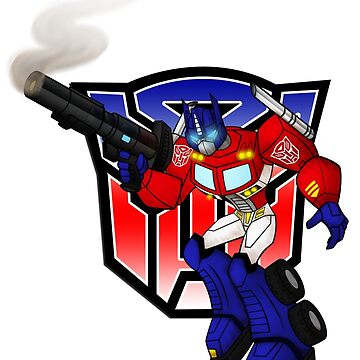 Optimus Prime by OmegaSunBurst