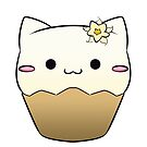 Vanilla - Cat CupCake by devicatoutlet