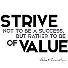 strive of value - einstein by razvandrc