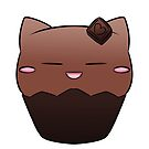 Chocolate - Cat CupCake by devicatoutlet