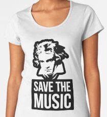 Save The Music Women's Premium T-Shirt