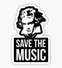Save The Music Sticker