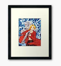 Edward and Alphonse Framed Print