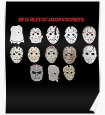 The 13 Faces of Jason Voorhees Poster