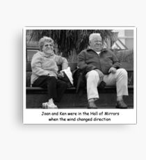 Joan and Ken Canvas Print