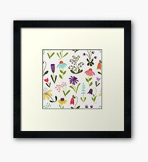 Fresh floral Framed Print