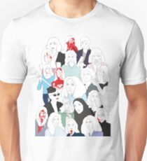 Women in Horror Unisex T-Shirt