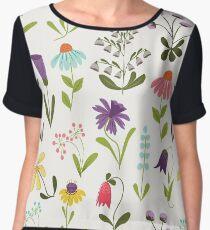 Fresh floral Women's Chiffon Top