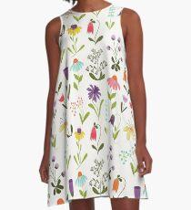 Fresh floral A-Line Dress