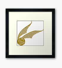 Golden Snitch Framed Print