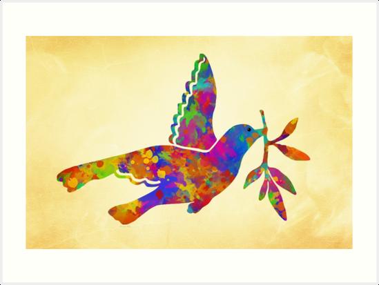 Peace Dove by Christina Rollo