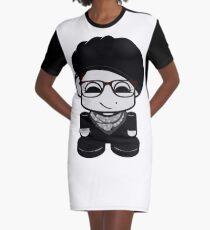 TiTi Mo'shed O'BOT Toy Robot 1.0 Graphic T-Shirt Dress