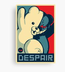 Monokuma: Vote for Ultimate Despair Canvas Print