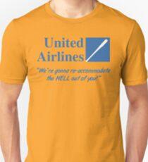 United Airlines Parody Unisex T-Shirt