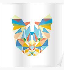 Diamond Cat Poster