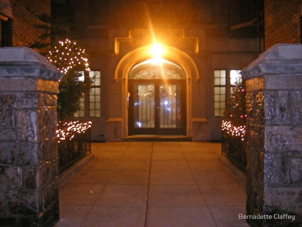 Christmas Welcome by Bernadette Claffey