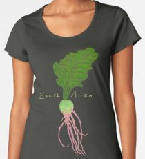 Earth Alien Watermelon Radish Women's Premium T-Shirt