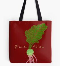 Earth Alien Watermelon Radish Tote Bag