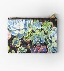 Succulent Field (watercolor) Studio Pouch