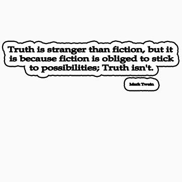 Stranger Than Fiction, Mark Twain by insanevirtue