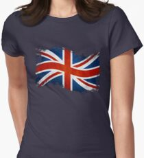 Royal Union Flag Womens Fitted T-Shirt