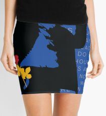 WILLIAM SAROYAN - Armenian Genocide Mini Skirt