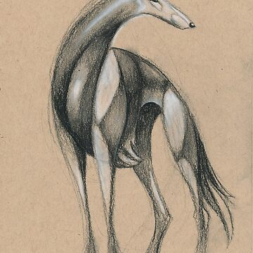 Swirly Sighthound 2 by CricketWings