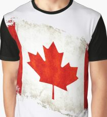 Canadian Flag  Graphic T-Shirt
