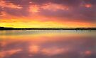Colours of a sunset by Delfino