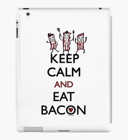 Keep Calm and Eat Bacon iPad Case/Skin