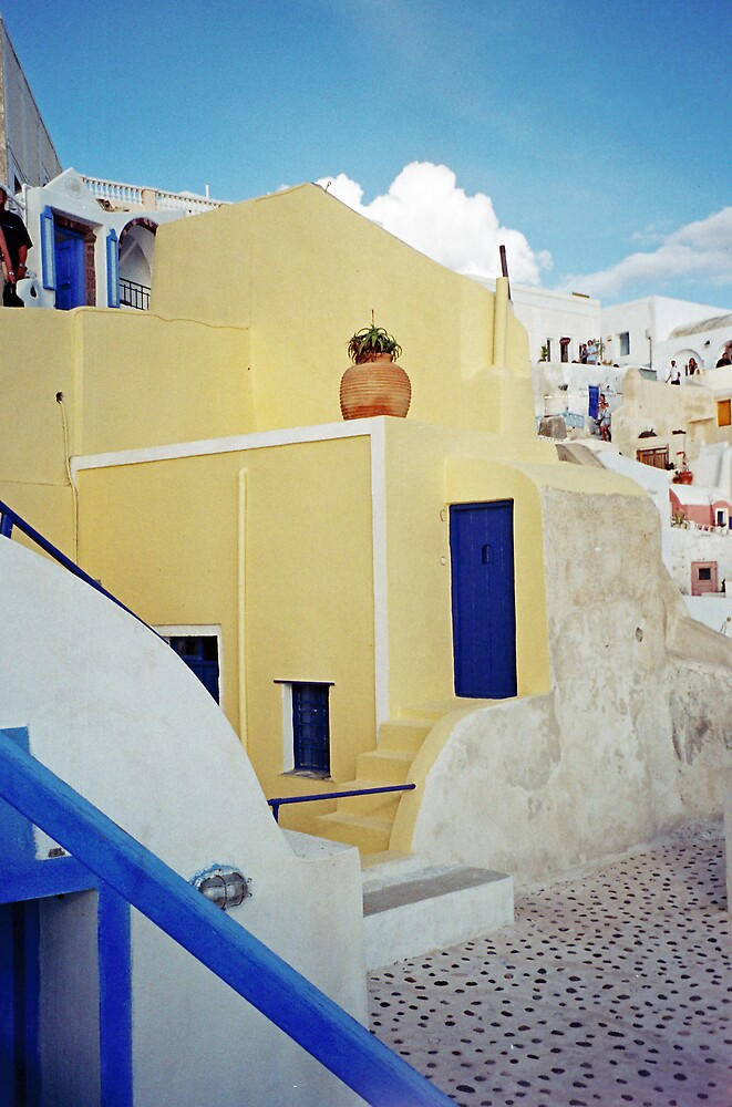 Something Different, Santorini by Leigh Penfold