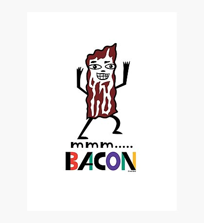 mmm Bacon Photographic Print