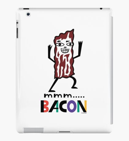 mmm Bacon iPad Case/Skin