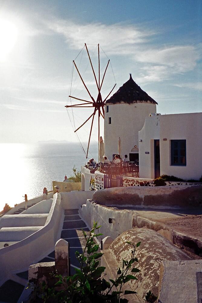 Oia Sunset, Santorini by Leigh Penfold