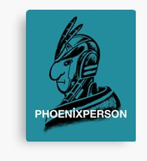 Phoenix Person Canvas Print